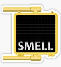 New York Crosswalk Sign Smell Sticker