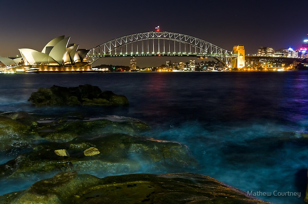 Harbour Nights by Mathew Courtney