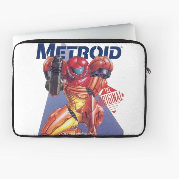 Metroid cover art Laptop Sleeve
