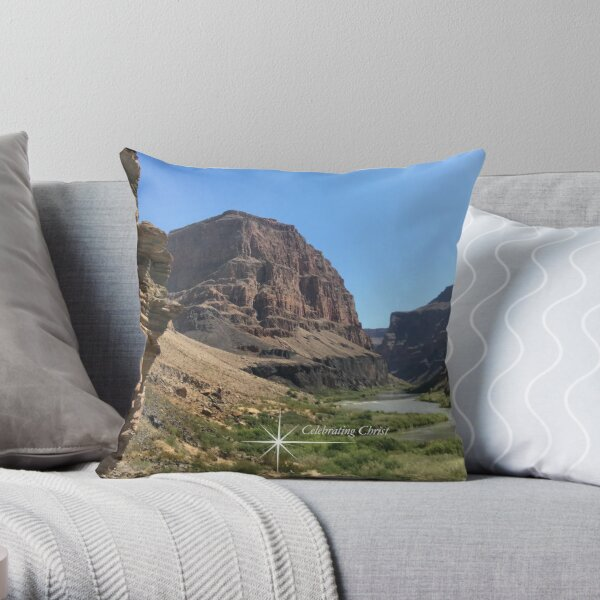 Colorado River - From ccnow.info Throw Pillow