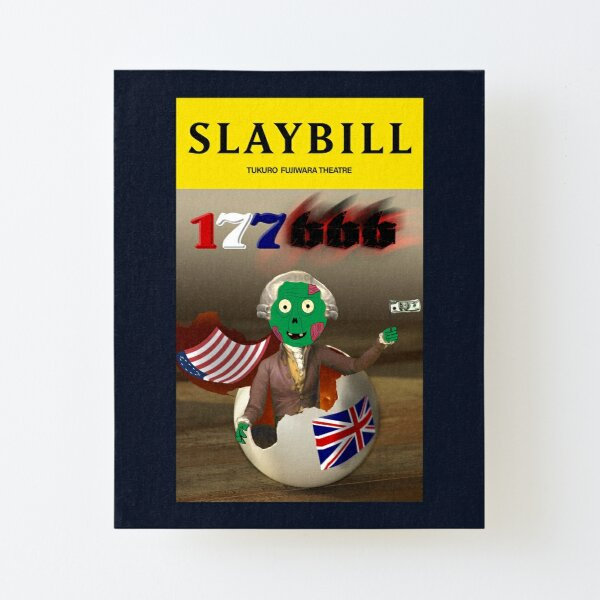 Broadway Zombie 177666 Slaybill Canvas Mounted Print