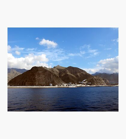 First View of Tenerife Photographic Print