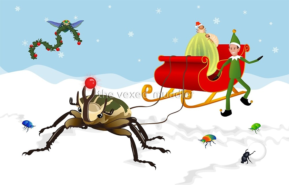 Happy Scarabidays by the vexed  muddler