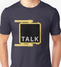 New York Crosswalk Sign Talk T-Shirt