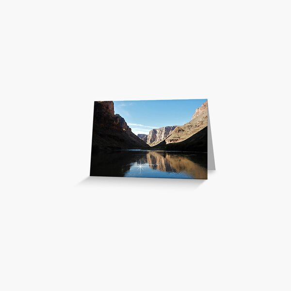 Colorado River Canyon Visions - From ccnow.info Greeting Card