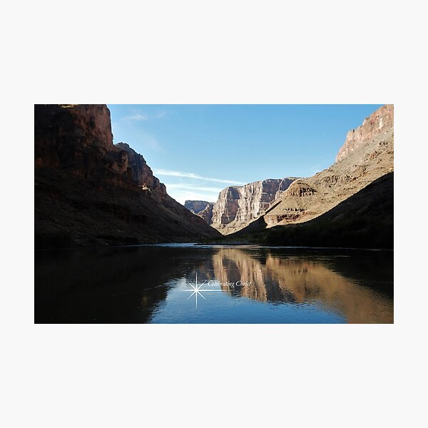 Colorado River Canyon Visions - From ccnow.info Photographic Print