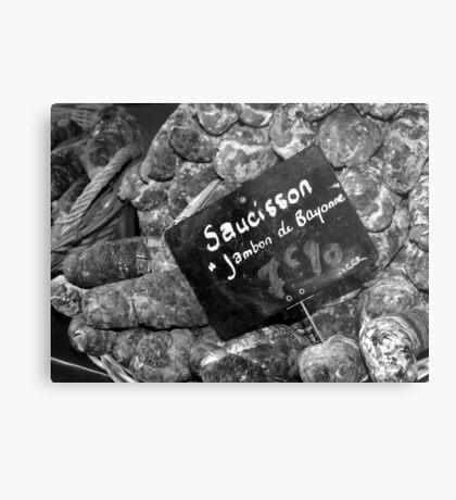 Saucisson Metal Print