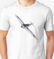 Silver Spitfire PR Mk XIX Unisex T-Shirt