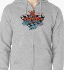 usa new york tshirt by rogers bros co Zipped Hoodie