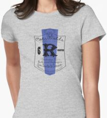 uk cotswolds by rogers bros Women's Fitted T-Shirt
