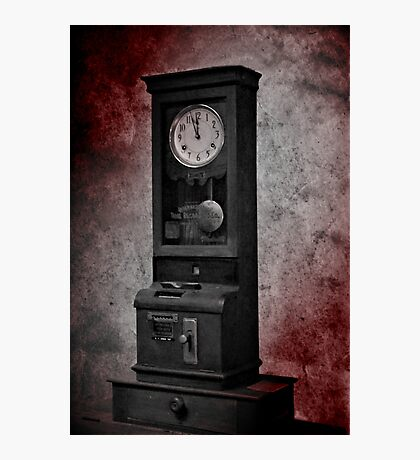 The Old Clock Photographic Print