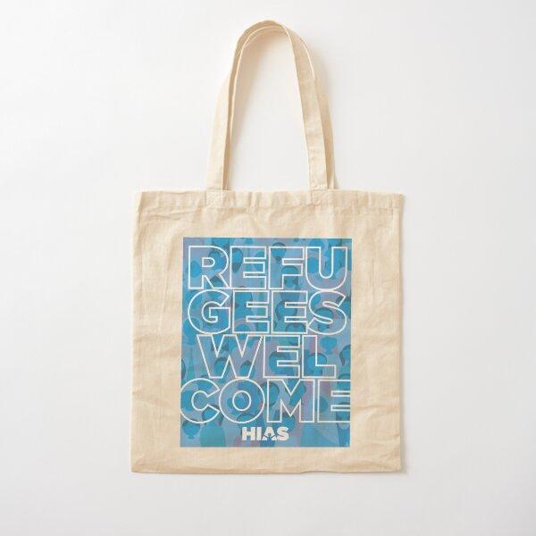 HIAS Refugees Welcome Tote Cotton Tote Bag