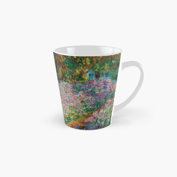Irises In Monet's Garden At Giverny by Claude Monet Tall Mug