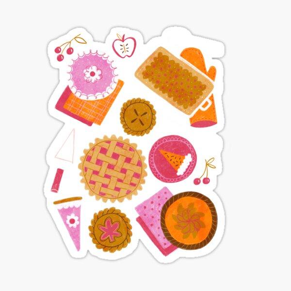 Pie Party Sticker