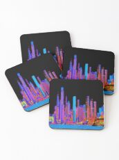 Neon jungle Coasters