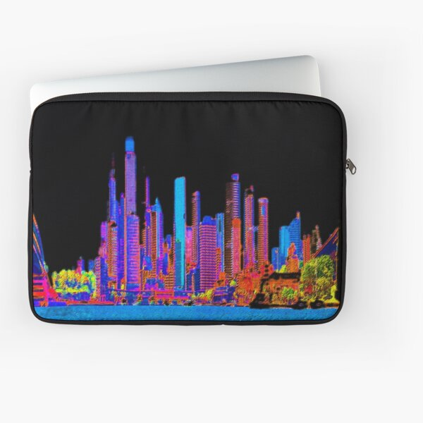 Neon jungle Laptop Sleeve