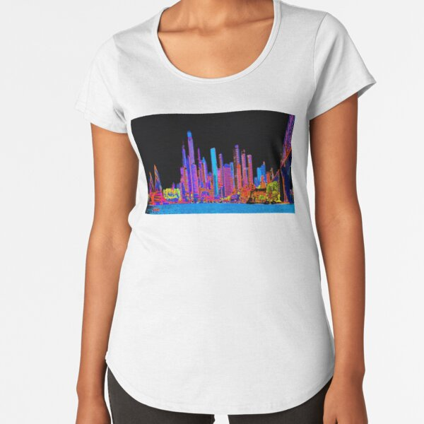 Neon jungle Premium Scoop T-Shirt