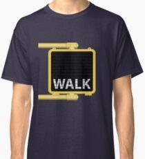New York Crosswalk Sign Walk Classic T-Shirt