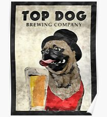 Top Dog Brewing Company Poster