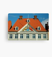 MVP22 Coat of Arms, Stralsund, Germany. Canvas Print