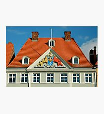 MVP22 Coat of Arms, Stralsund, Germany. Photographic Print
