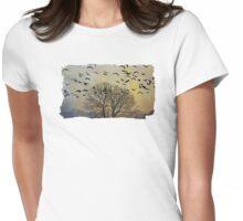 Bird Watching - JUSTART © Womens Fitted T-Shirt