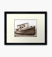 Abandoned Wreck Framed Print