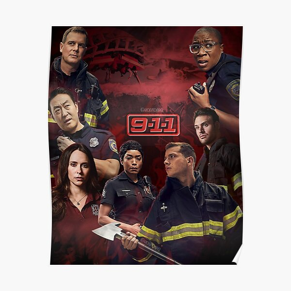 9-1-1 Poster Poster