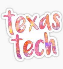 TX Tech Sticker