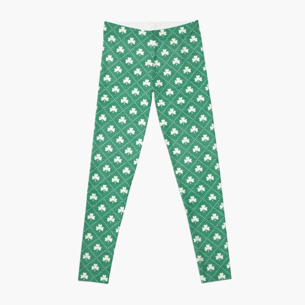 Shamrock On! - emerald Leggings