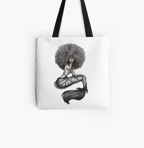Goddess of the Sea All Over Print Tote Bag