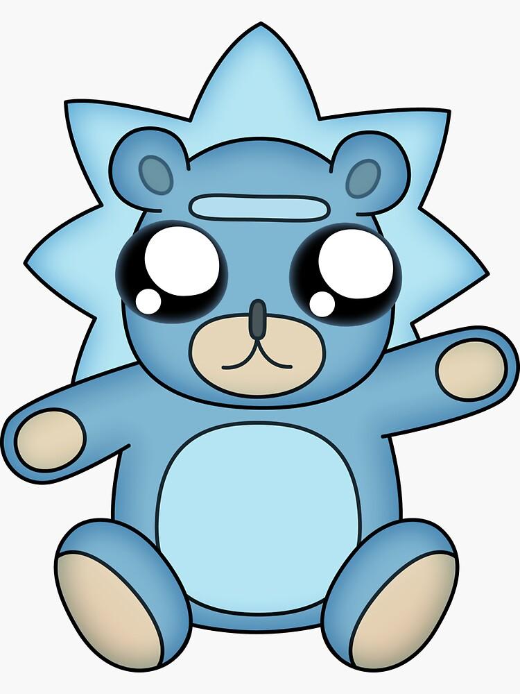 Cute Teddy Rick by Doomgriever
