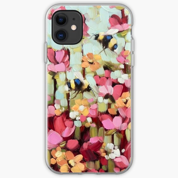 Sweet Bumblebees iPhone Soft Case