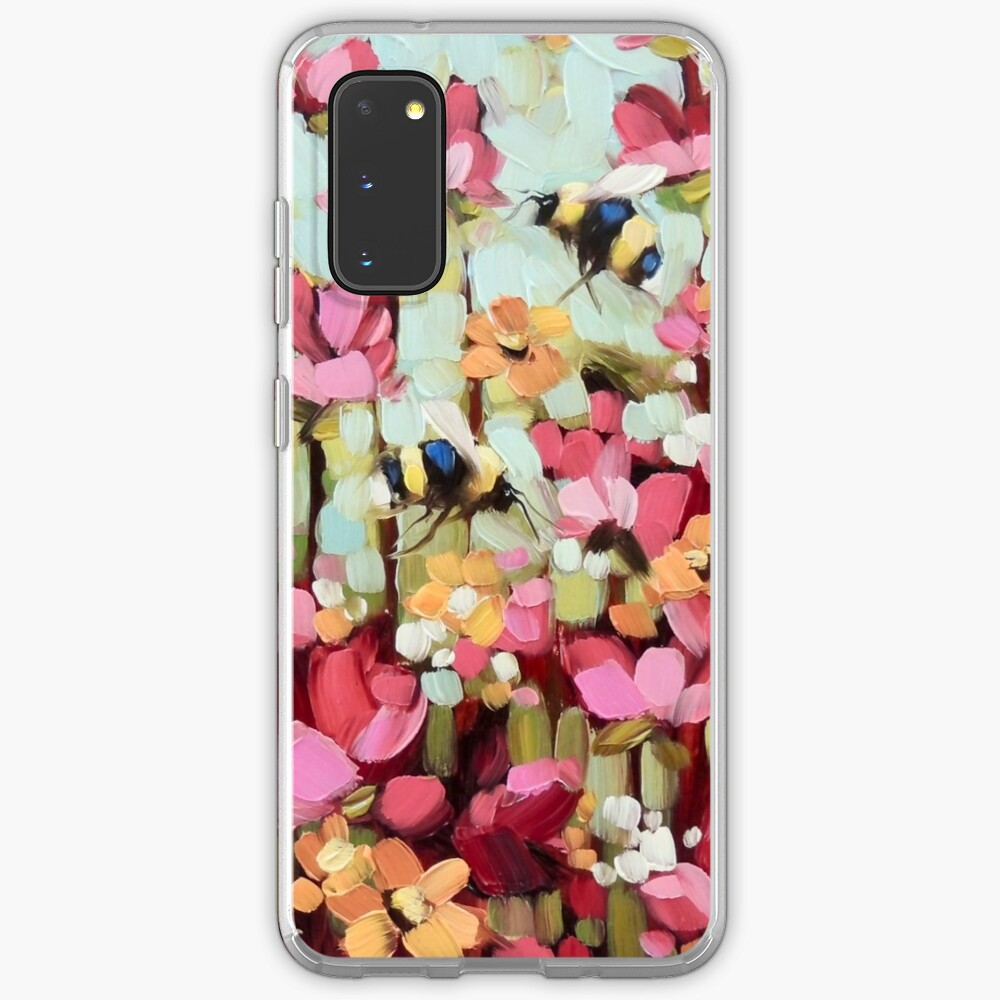 Sweet Bumblebees Case & Skin for Samsung Galaxy