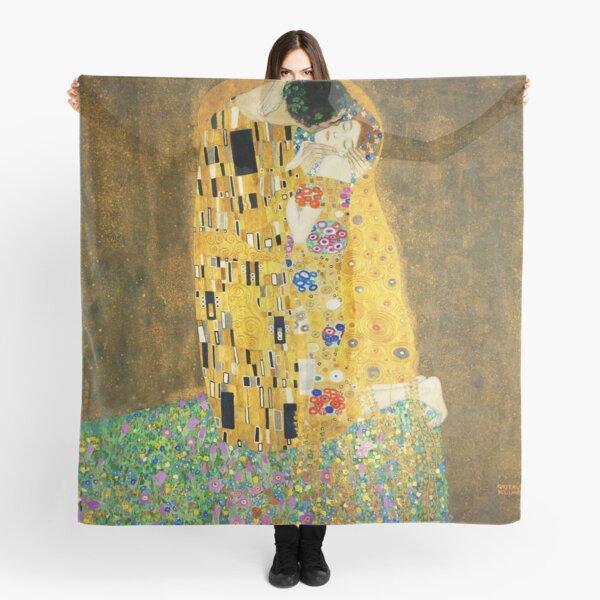 Gustav Klimt The Kiss Scarf