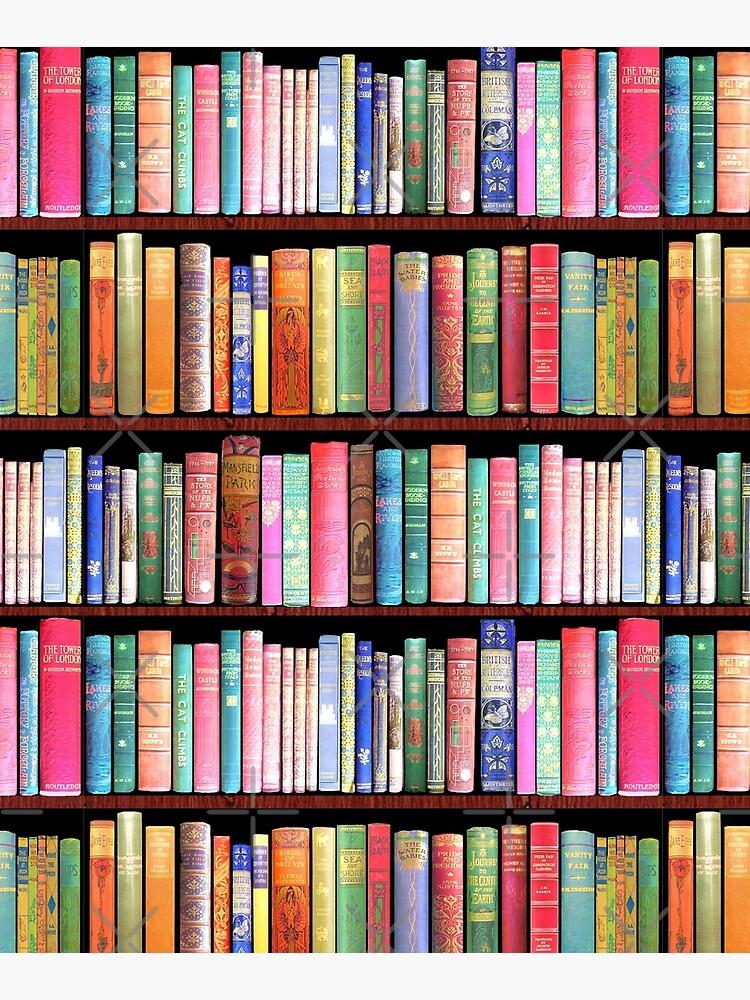 Bookworm Antique books by MagentaRose