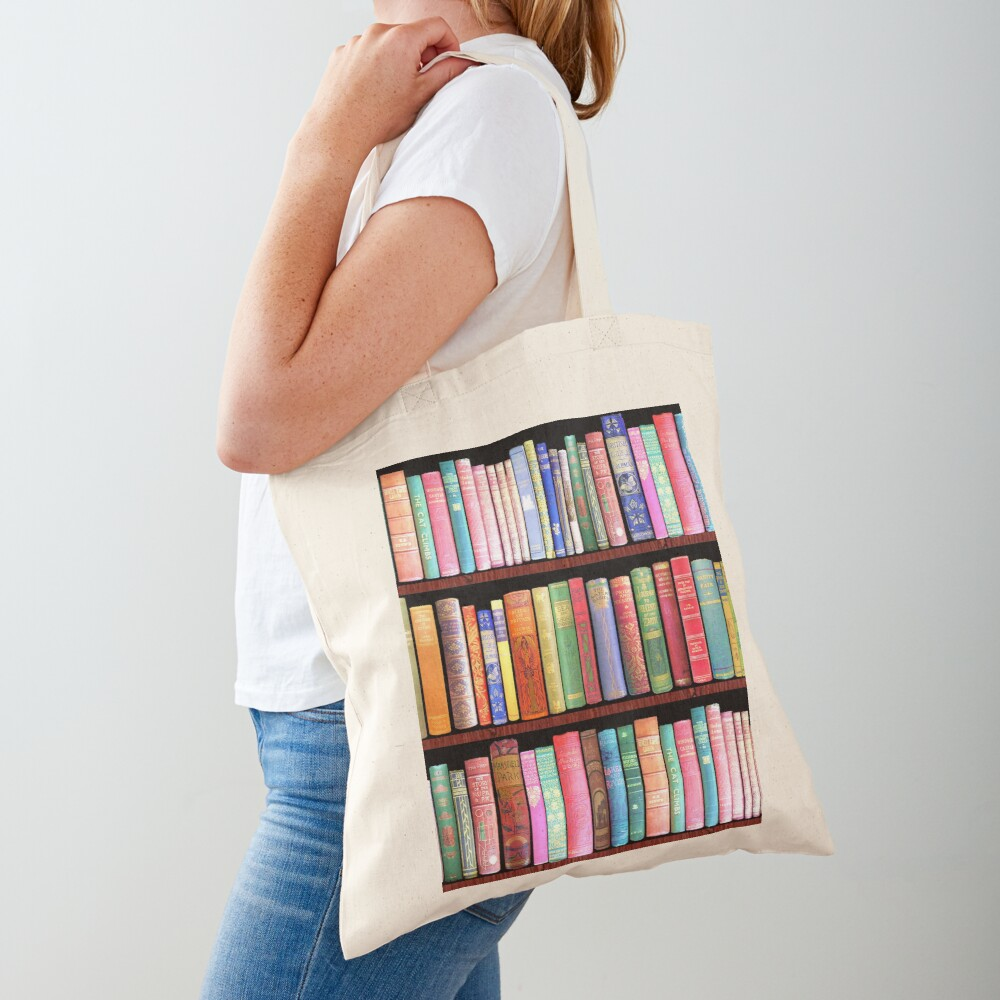 Bookworm Antique books Tote Bag