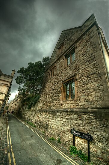 Brewer Street Oxford by John Hare