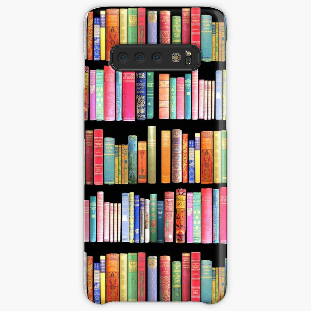 Bookworms Delight / Antique Book Library for Bibliophile Case & Skin for Samsung Galaxy