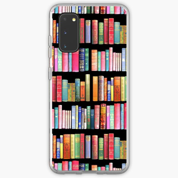 Bookworms Delight / Antique Book Library for Bibliophile Samsung Galaxy Soft Case