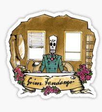 Grim Fandango Sticker