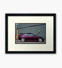 Escort Cosworth Monte - Side Shot Framed Print