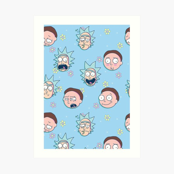 Rick & Morty Kunstdruck