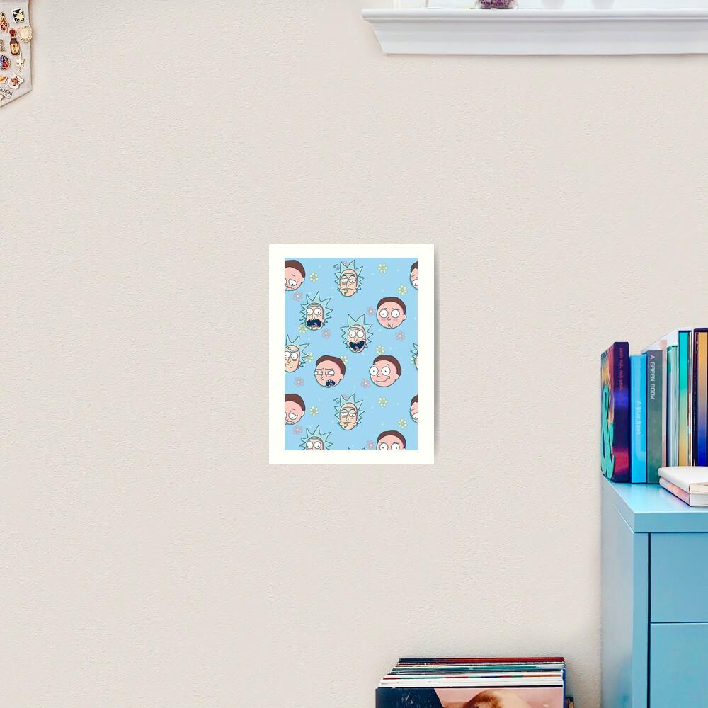 Rick & Morty Art Print