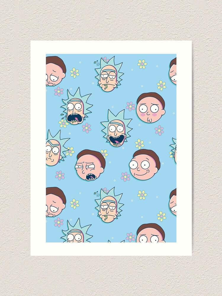 Alternate view of Rick & Morty Art Print