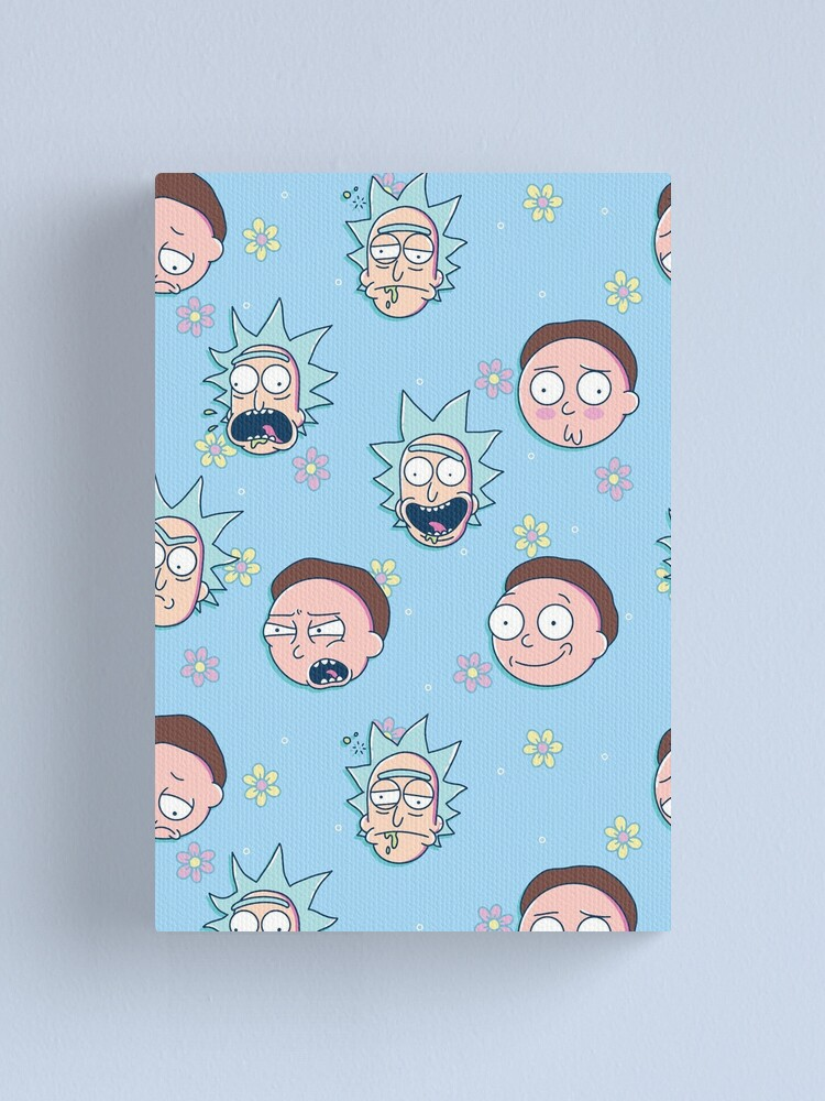 Alternate view of Rick & Morty Canvas Print