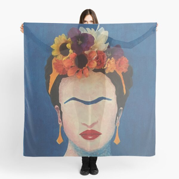 Frida, Flowers and All Scarf