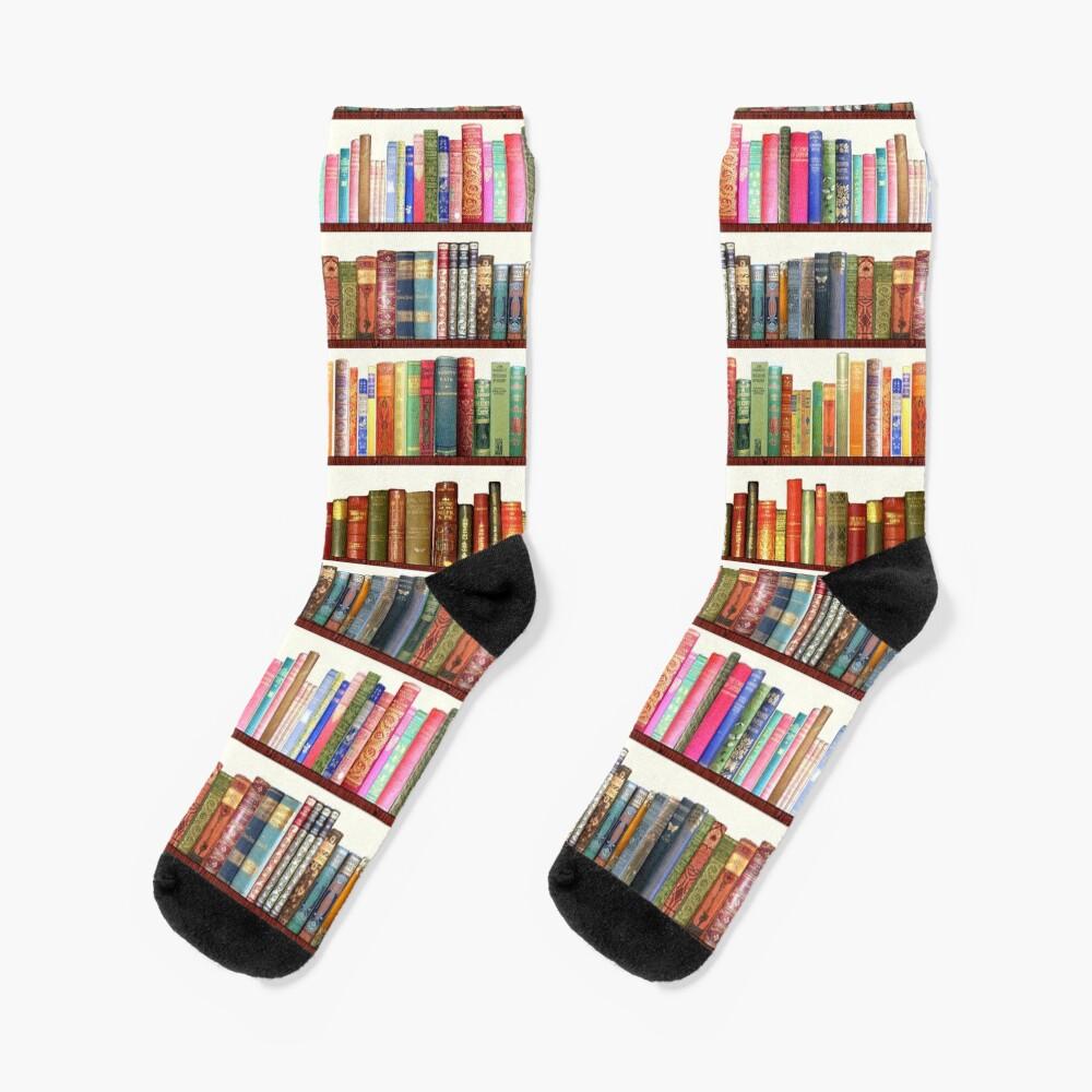Jane Austen Antique Books Socks