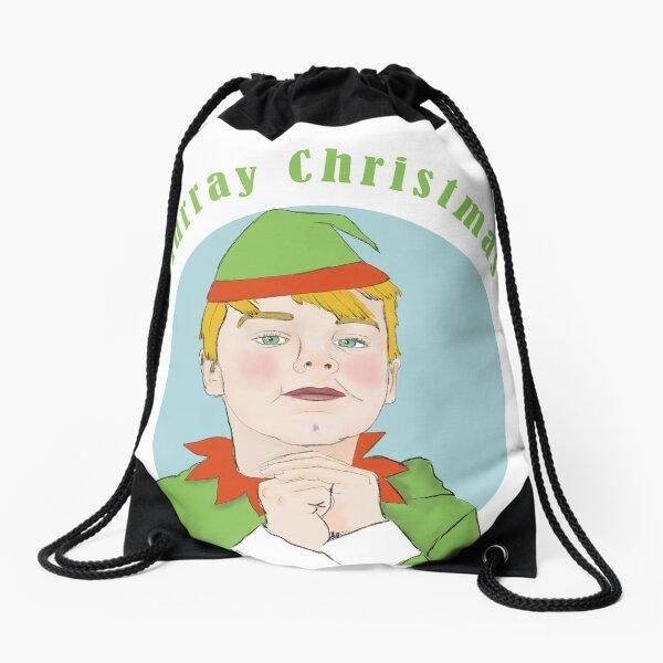 Murray Christmas Elf Drawstring Bag