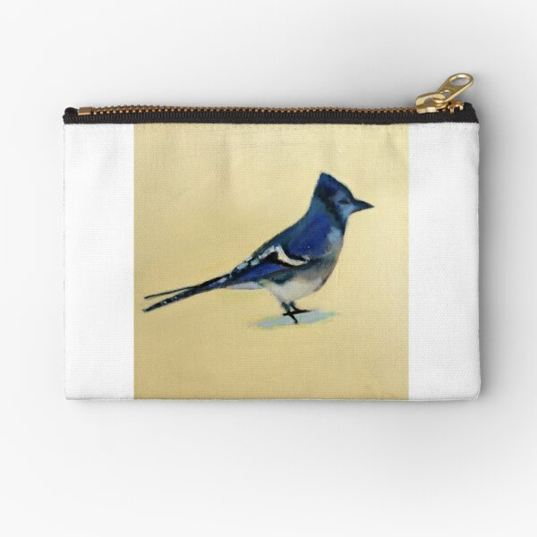 February Bluejay II, 2015 Zipper Pouch